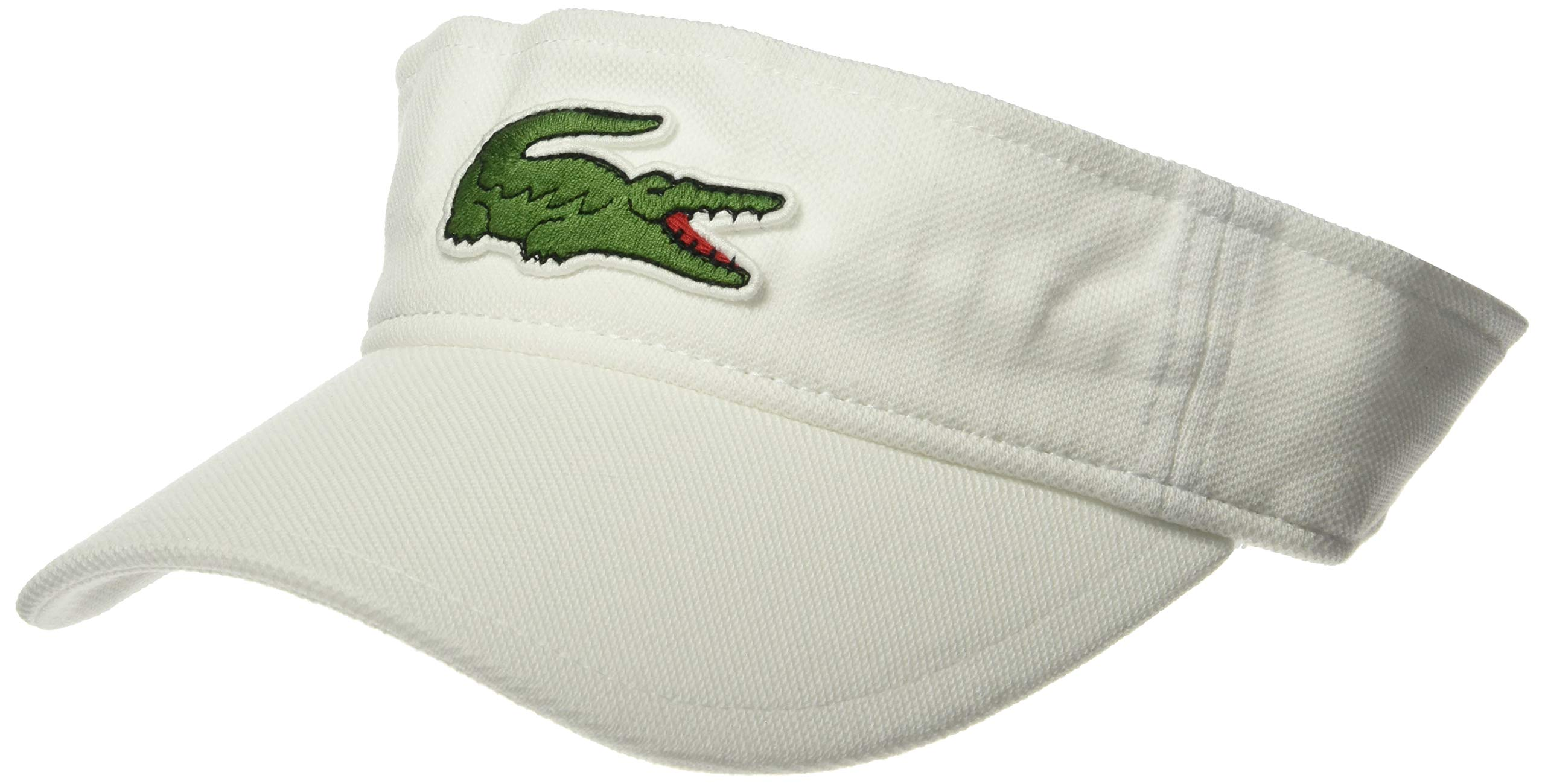 Lacoste Men's Sport Miami Open Edition Visor, White, M/L by Lacoste