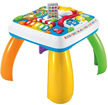 amazon mattel fisher price drh31 fun learning game table