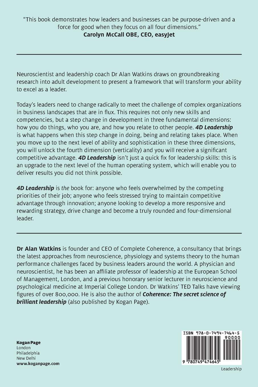 Amazon com: 4D Leadership: Competitive Advantage Through