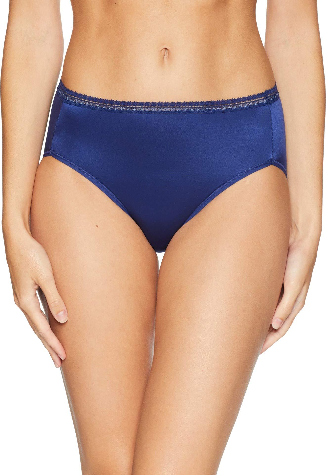 7a99b1a7841 Galleon - Wacoal Women's Perfect Primer Hi Cut Brief Panty, Blueprint, L