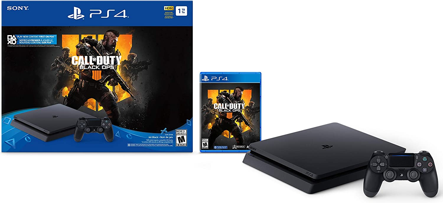Sony PlayStation 4 Delgado Consola de 1 TB - Call of Duty: Black ...