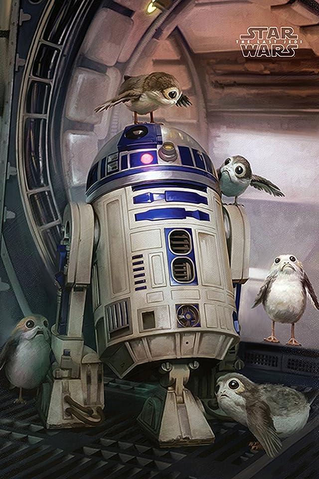 スター ウォーズ Star Wars R2 D2とポーグ Iphone 640 960 壁紙 画像