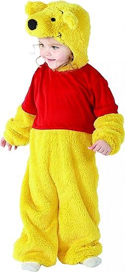 Winnie The Pooh - Disfraz de oso Winnie para niño, talla 1-2 años ...