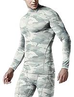 Tesla Men's Thermal Coldgear Compression Mock Long Sleeve T Shirts T32/T42/TX2