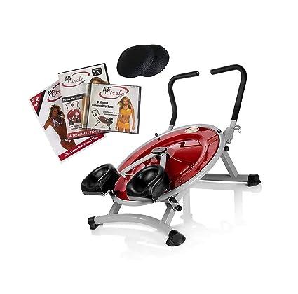 Amazon home gym exercise fitness machine dvd ab circle pro