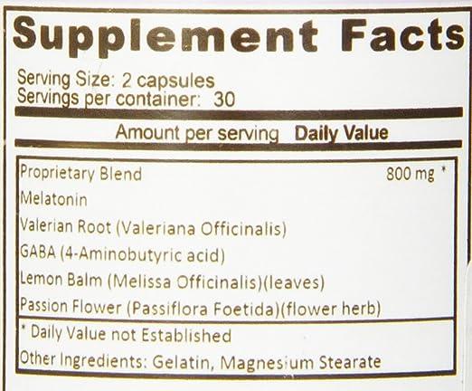 Amazon.com: Eden Pond Sleep Natural Non Addictive with Melatonin Pills, 60 Count: Health & Personal Care