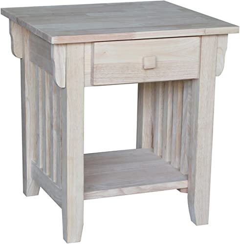 International Concepts Mission End Table