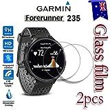 [2-Pack] Garmin Forerunner 235 Tempred Glass LCD Screen Protector Film Guard For Garmin Forerunner 235 Smart Watch