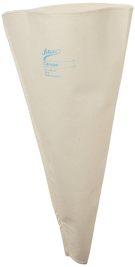 Ateco 3218 18 Canvas Pastry Decorating Bag
