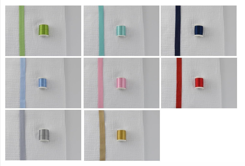 Mulltuch mit Wunschnamen in diversen Farben
