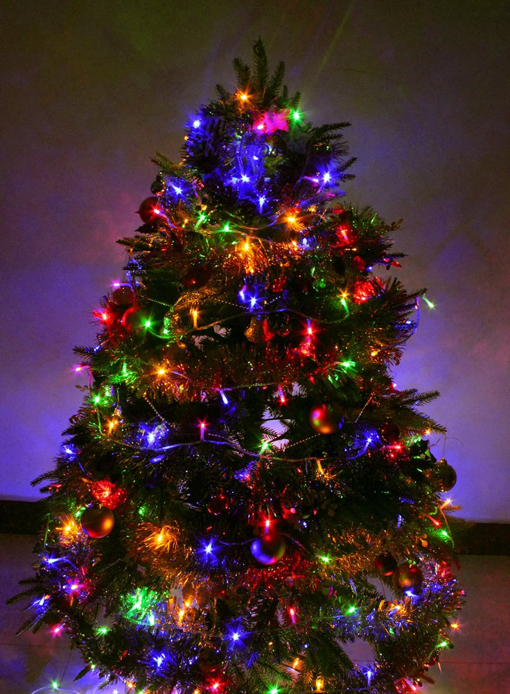 100-1000 LED String Fairy Christmas Tree Party Wedding Lights Extra Long Wire