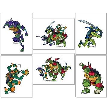 Amazon.com: Teenage Mutant Ninja Turtles Tattoos - Prizes ...