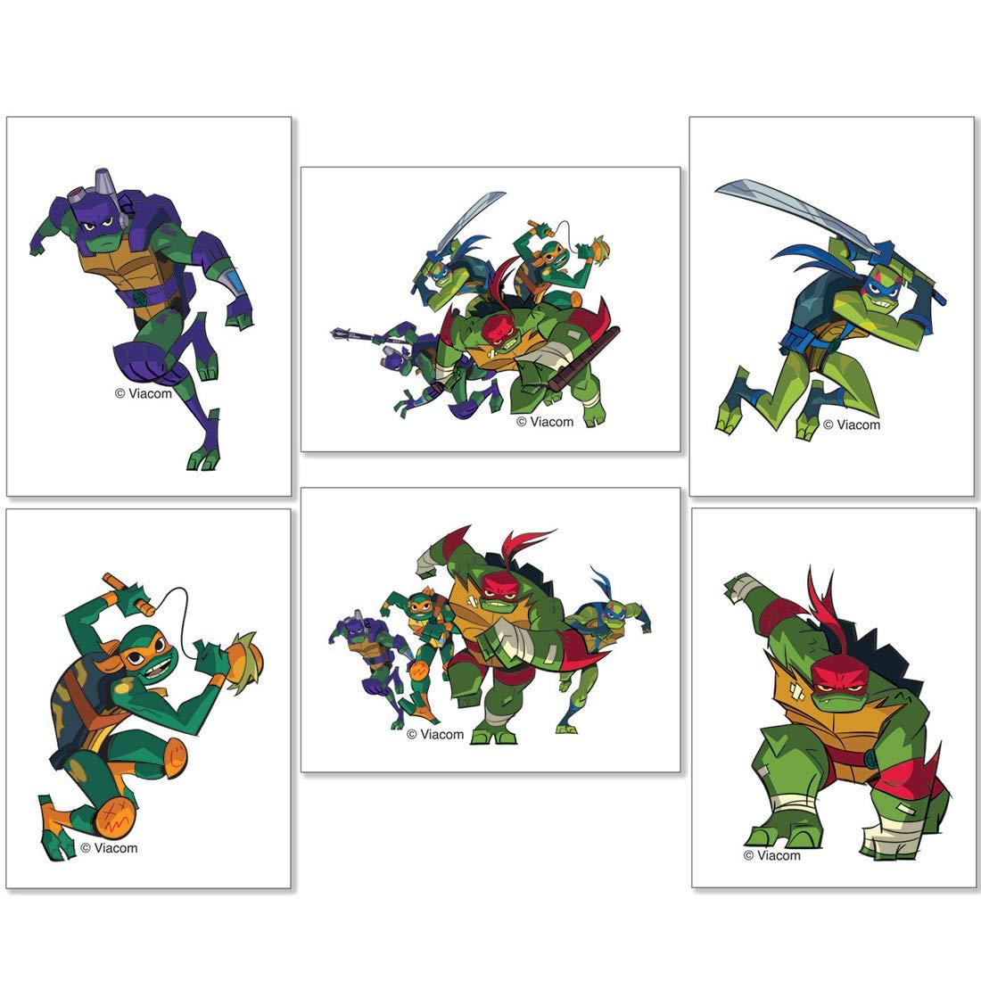 Teenage Mutant Ninja Turtles Tattoos - Prizes and Giveaways - 144 per Pack