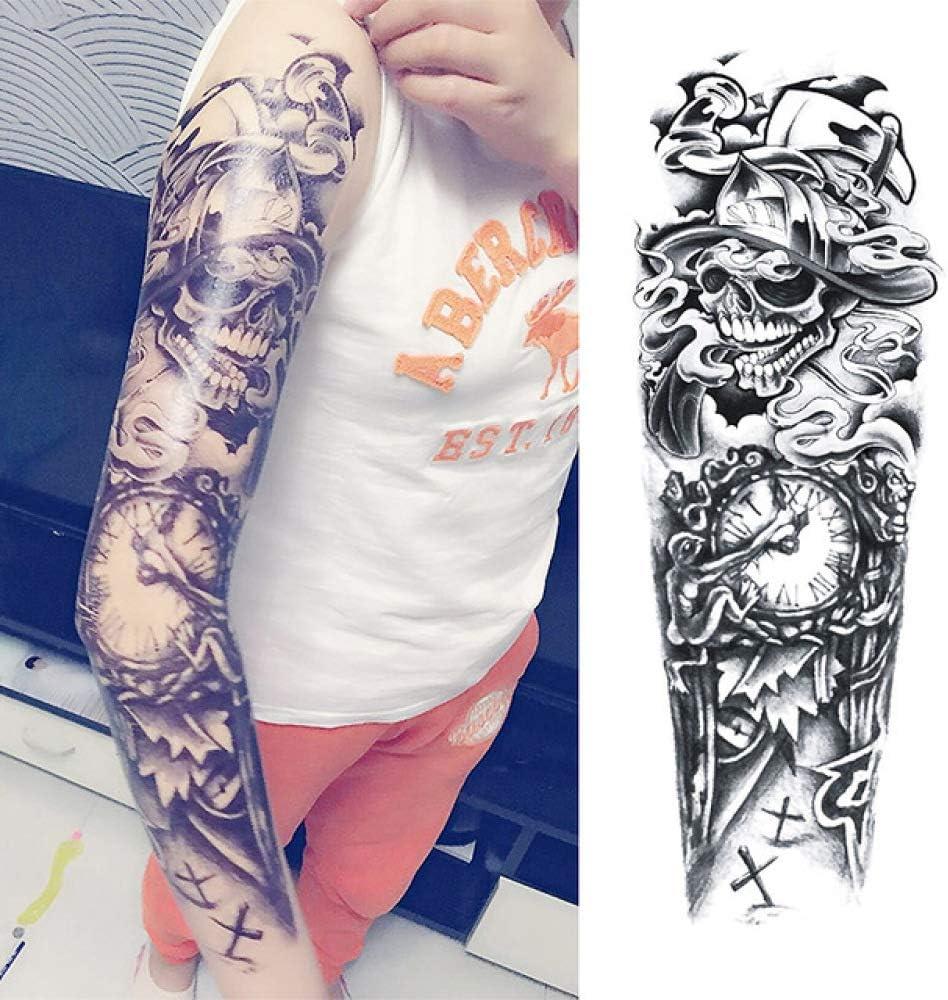 7pcs Barato falso hombro tatuaje de flores tatuaje etiqueta ...