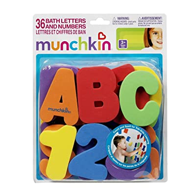 Munchkin Bath Letters and Numbers : Baby
