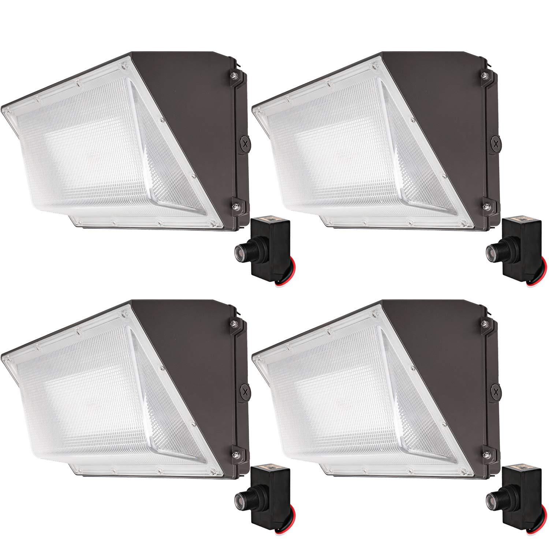 LED壁パック 4 Pack HY-WP120W5K-4 4 Pack 120w B075STC855
