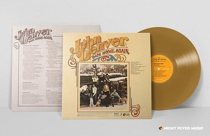 Top 5 John Denver Back Home Again Vinyl