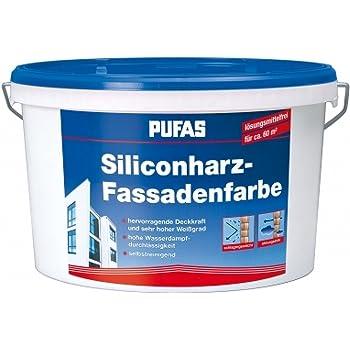 Auf der Suche nach guter Fassadenfarbe werden Sie bei dem Hersteller Pufas fündig.