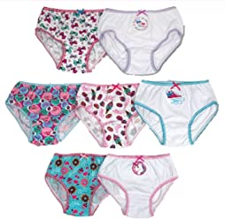 JoJo Siwa Girls 7-Pc Cotton Underwear Brief Panties