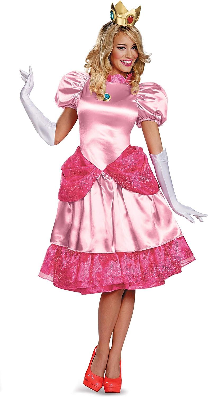 Nintendo Deluxe Trajes, Princess Peach, XS para Mujer: Amazon.es ...