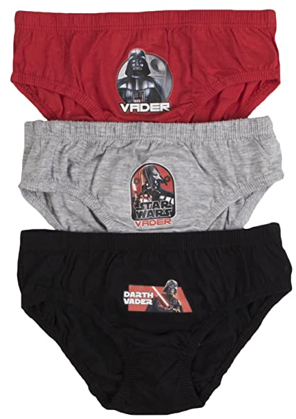 Disney - Calzoncillo - para niño multicolor Star Wars - Darth Vader - Multi