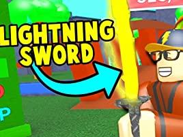 Watch Clip Roblox Game Time Prime Video - buying the most powerful sword in roblox ninja masters