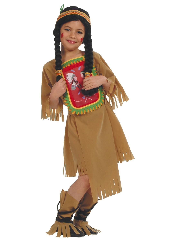 César - Disfraz de india para niña (de 8/10 años): Amazon.es ...