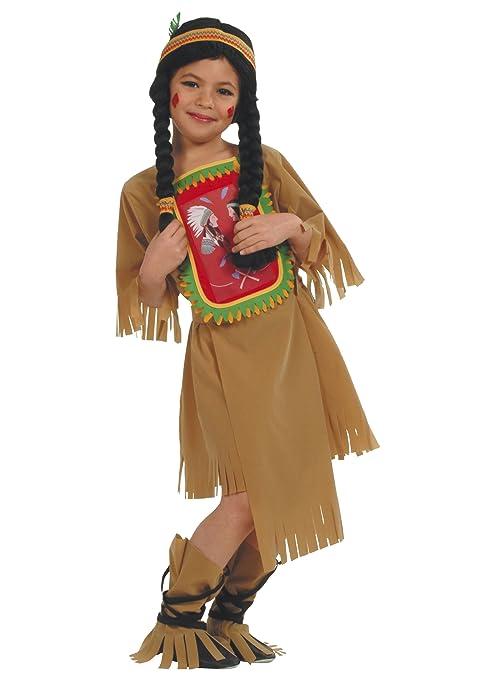ff9ce3513e2ea César - Disfraz de india para niña (de 8 10 años)  Amazon.es ...