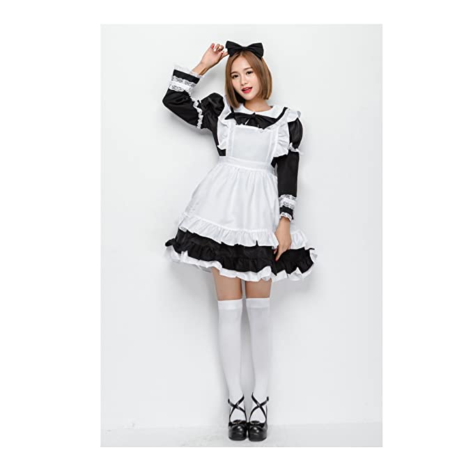 Amazon.com: Deer Mum mujeres vestido Cosplay disfraces ...
