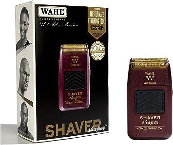 Maquinilla profesional Shaver/Shaper 8061 de Wahl, de la serie Five Star (5 Star), incluye maquina de afeitar de 2 pines, adaptador de cepillo eléctrico, enchufe adaptador de 3 pines: Amazon.es: Salud y