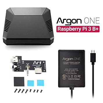 Amazon.com: Argon ONE - Carcasa para Raspberry Pi 3 B+/B ...