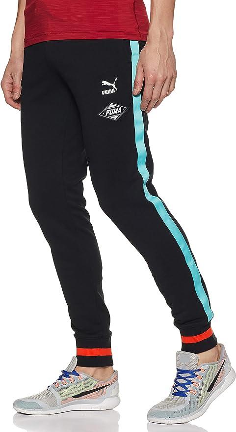 PUMA Pantalon LuXTG Negro para Hombre: Amazon.es: Ropa y ...