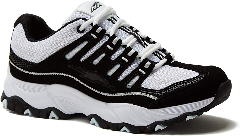 Avia Women s Elevate Performance Athletic Shoe, Wide Width with Memory Foam Insole