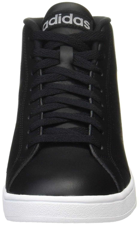 adidas Herren Advantage Cl Mid Hohe Sneaker, Schwarz (Core