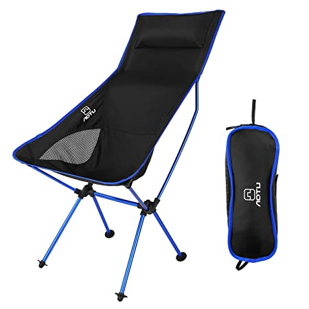 AOTU Portable Ultralight Heavy Duty Folding Chair for Outdoor Activities Camping Hiking