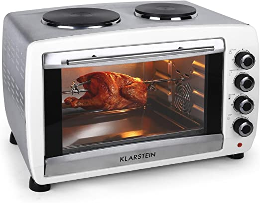 Klarstein Omnichef horno-grill eléctrico mini con placas de ...