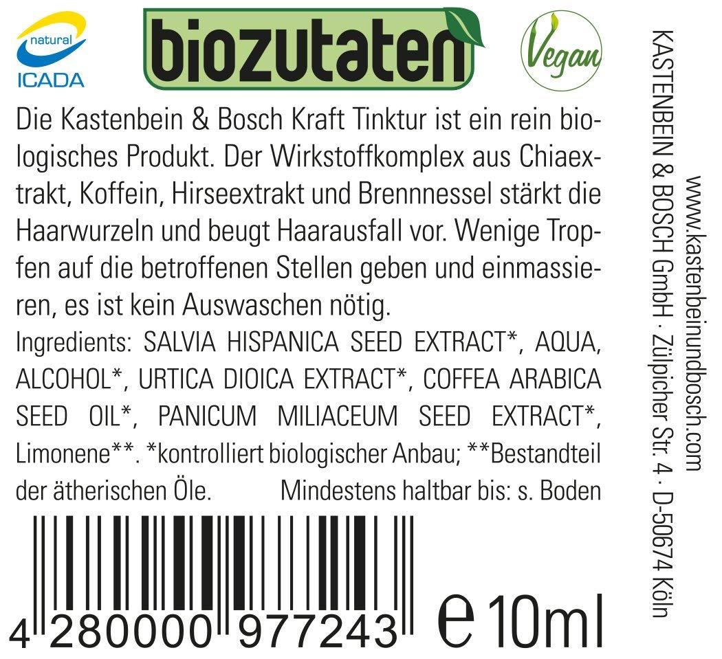 Bio Chia Krafttinktur para cabello sano - con ingredientes 100 ...