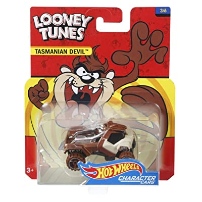 Hot Wheels Looney Tunes Tasmanian Devil Vehicle: Toys & Games