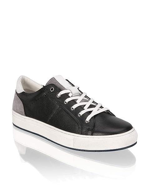 low top sneaker herren leder