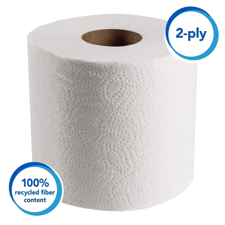 d3ba28d9965 Amazon.com  Scott Essential Professional 100% Recycled Fiber Bulk Toilet Paper  for Business (13217)