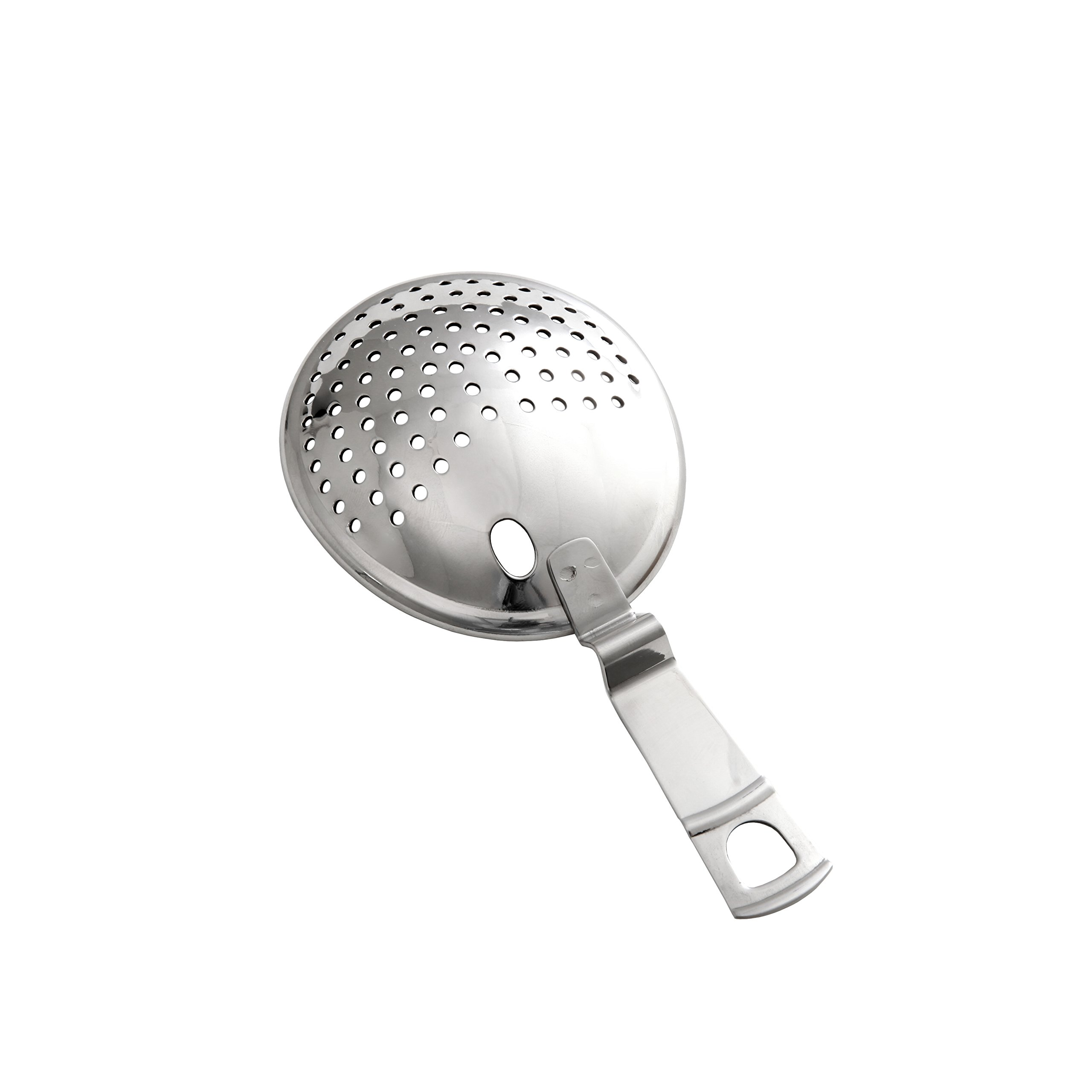 Crafthouse by Fortessa Professional Metal Barware/Bar Tools by Charles Joly, 6'' Stainless Steel Julep/Cocktail Strainer
