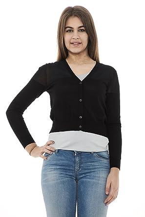 Emporio Armani Gilet - Manches Longues - Femme  Amazon.fr  Vêtements ... b904eceeb9d