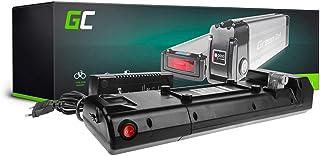 GC® EBIKE Batteria 36V 11.6Ah Pedelec Rear Rack con Celle Panasonic Li-Ion e Caricabatterie MATE Aventador Surface604 Bintelli Apollo