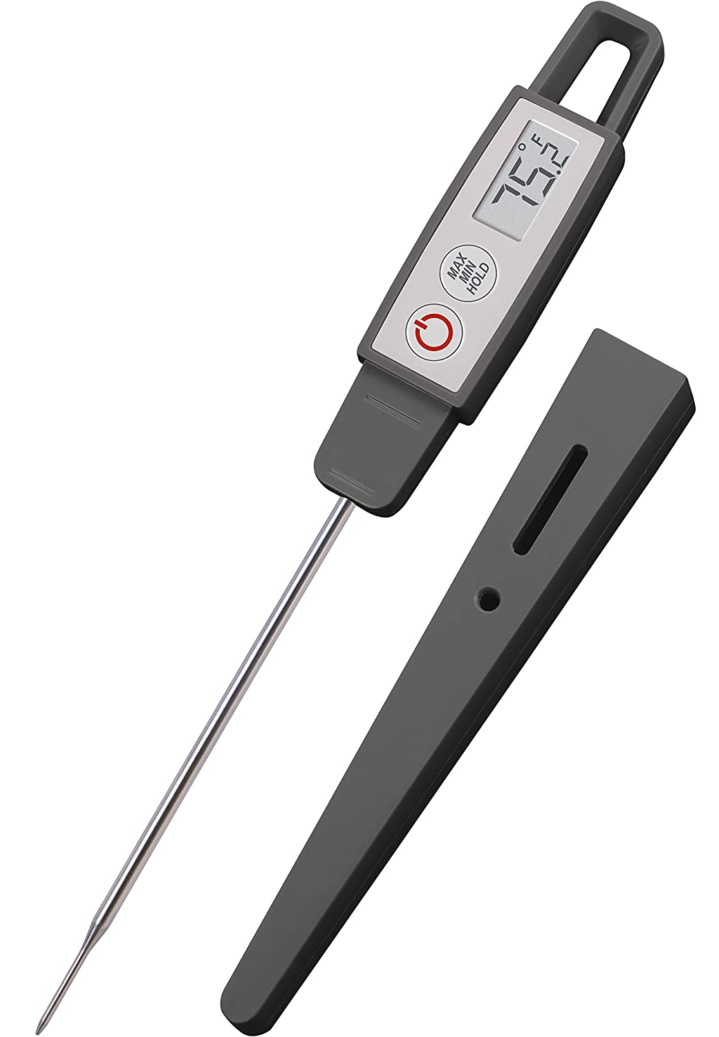 Regular, Chipotle Lavatools PT09C Commercial Grade Digital Kitchen Instant Read Meat Thermometer