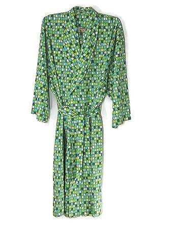Amazon.com  Hello Club Robes for Men 4XL Sleepwear Green  Clothing 666bf973e