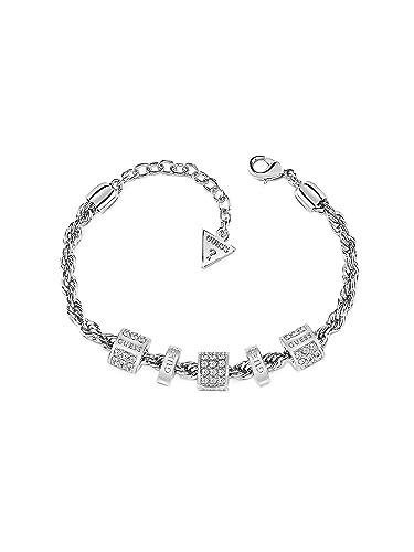 Guess Bracelet tressée G Colors Charms Femme ubb84092-s  Amazon.fr ... a03427ddb32