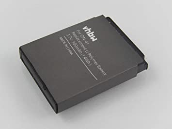 vhbw Batería de polímero de Litio 380mAh (3.7V) para Smart ...