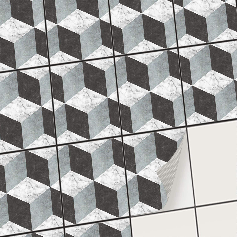 6x8 white wall tile bathroom
