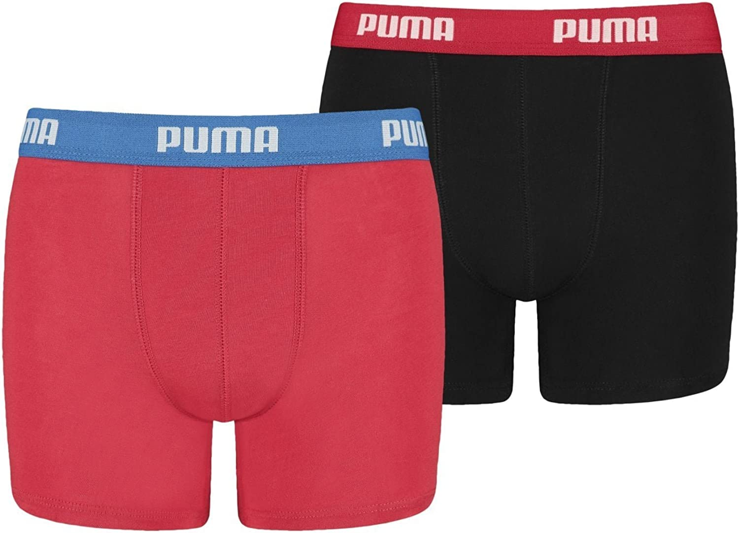 PUMA Boys Boxer Shorts Pack of 2