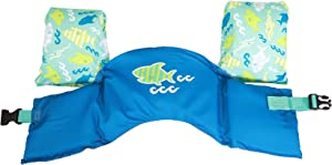 SwimWays Sea Squirts Swim Trainer Life Jacket - Blue Shark